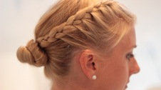Allene Chomyn mobile wedding hair stylist Kitchener Waterloo